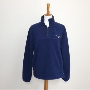 RALPH LAUREN Polo Sport Men's M Fleece Half Zip